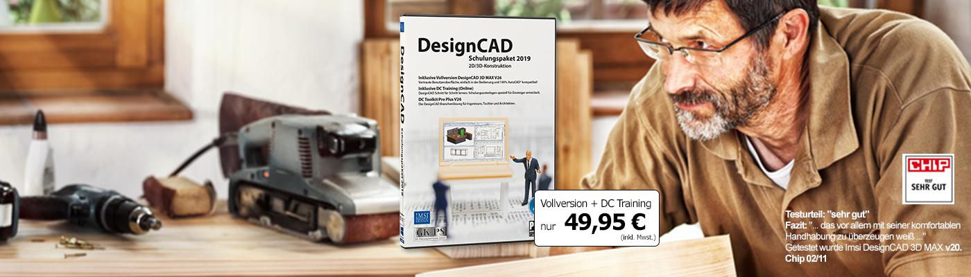 DesignCAD Schulungspaket 2019
